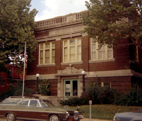 The Carnegie Library, Belleville, Illinois 1969