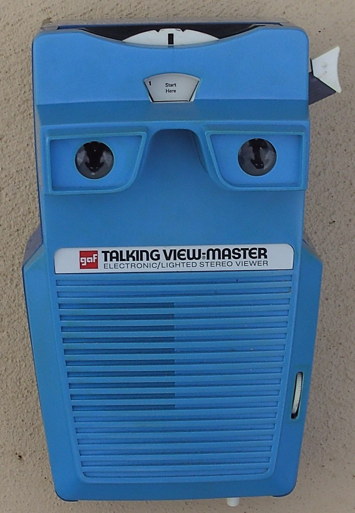 talking view-master viewer