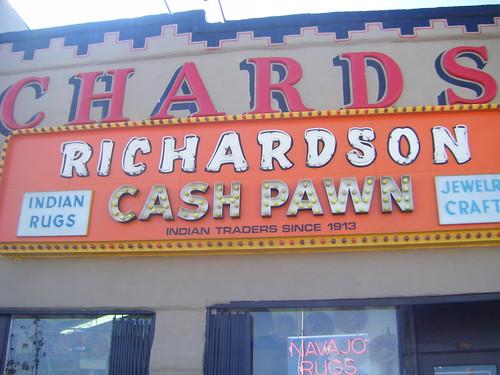 Bradley Gordon's photo of a famous Gallup pawn shop.