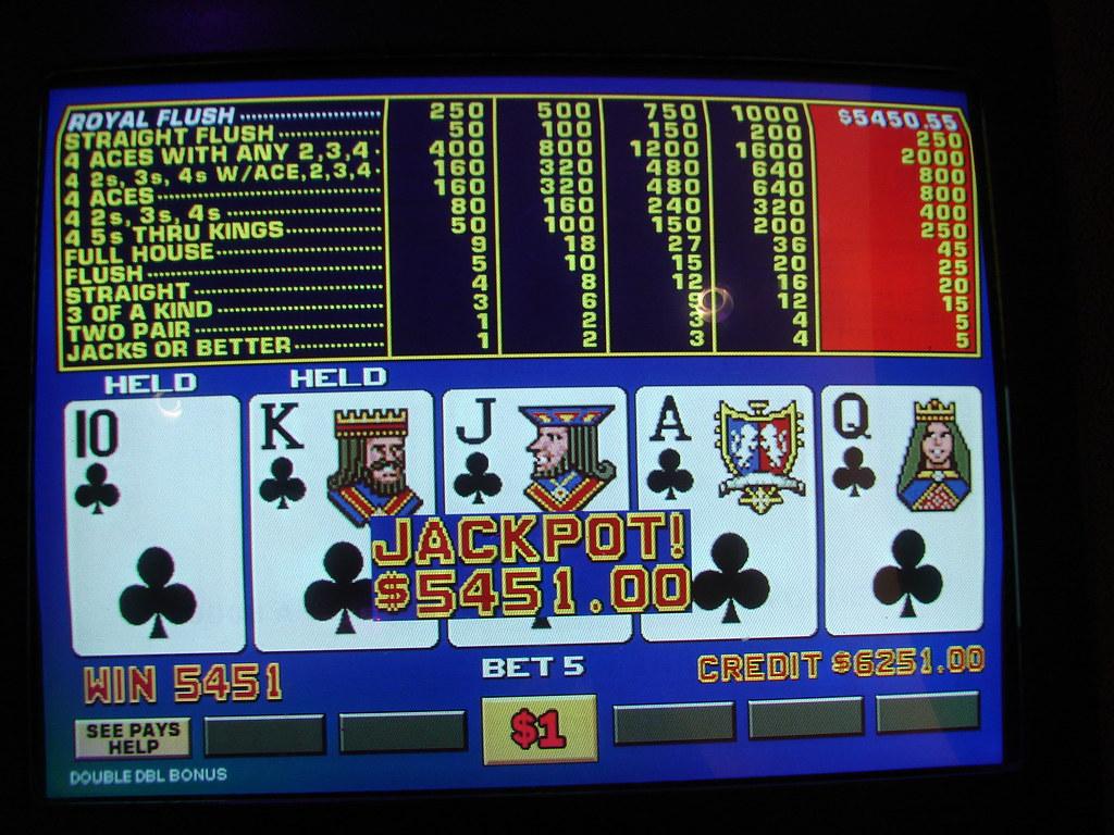 My Video Poker Royal Flush Progressive Jackpot