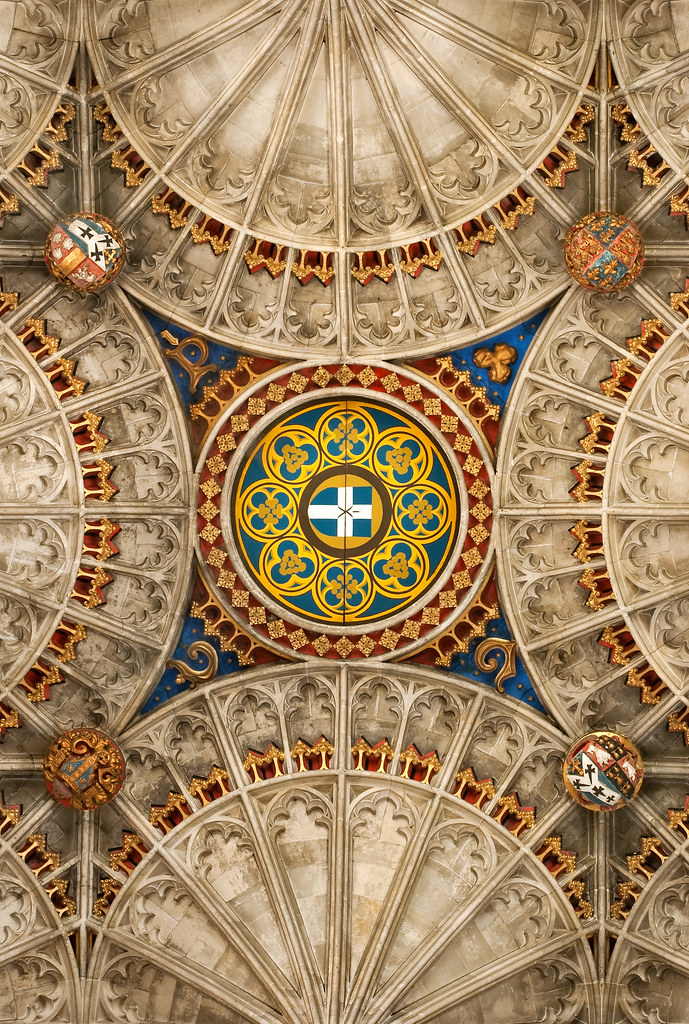 Canterbury Cathedral Ceiling..