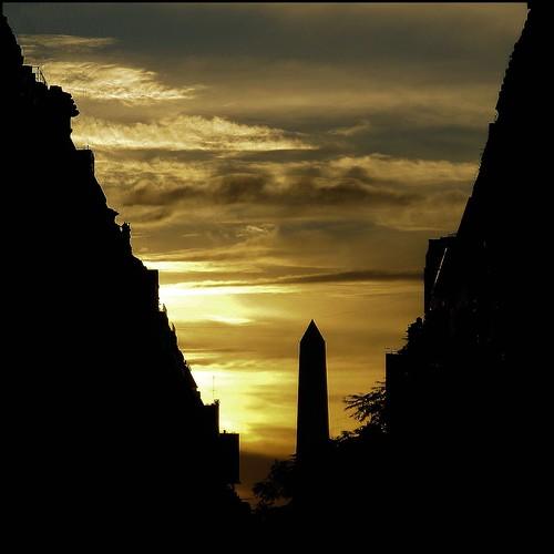 sunset fab sky argentina clouds buenosaires obelisk mywinners platinumphoto platinumheartaward vanagram saariysqualitypictures