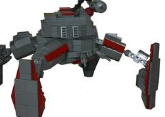 gun turret(0.0), machine gun(0.0), firearm(0.0), gun(0.0), machine(1.0), mecha(1.0), toy(1.0),