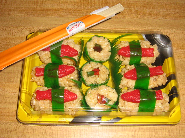 Rice Krispie Treat Sushi | Flickr - Photo Sharing!