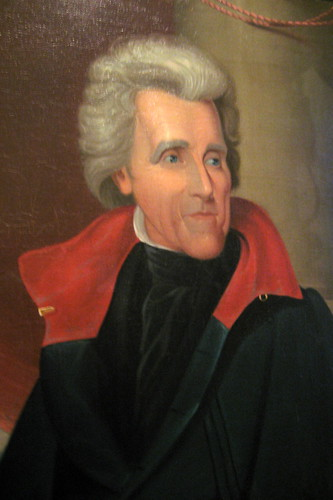 Philadelphia - Old City: Second Bank Portrait Gallery - Andrew Jackson