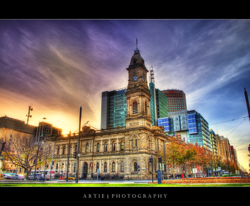 Adelaide General Post Office - HDR