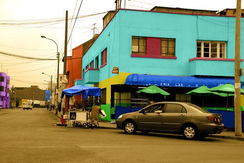 Cevichería Las Américas, antes Oh Calamar, Balconcillo, Lima-Perú, 2008