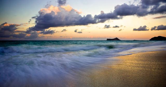 Waimanalo Beach Sunset
