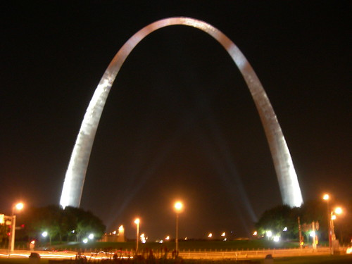 St Louis Arch @ Night
