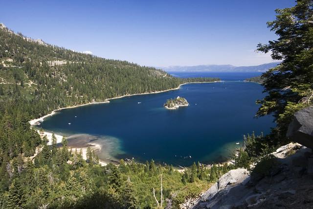 Bahía Esmeralda, Lago Tahoe, Sierra Nevada, California, Estados Unidos