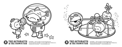 Octonauts Colouring