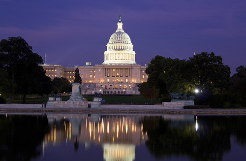longexposure usa building water night america reflections dc washington districtofcolumbia dusk capital uscapitol congress reflectingpool senate legislative nationscapital earthnight freedomstatue colorsofthenight
