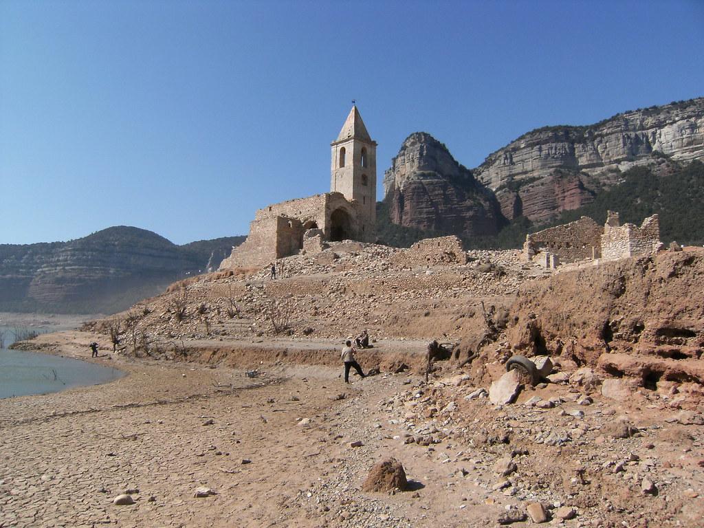 Pantà de Sau, Esglèsia de Sant Romà