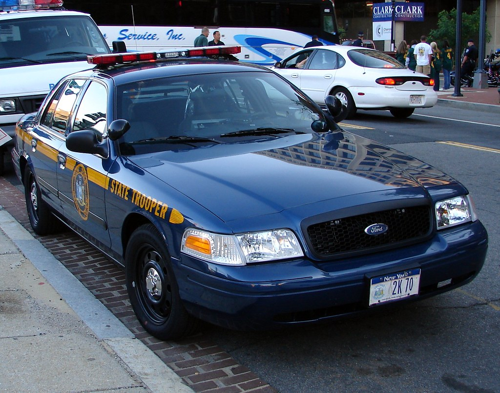 Police Car New York State  Ford