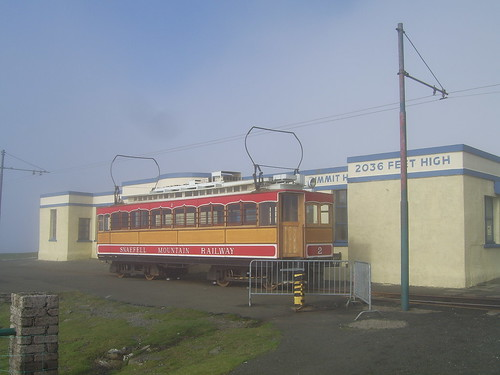 Snaefell Mountain Railway Terminus: Summit