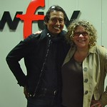 Alejandro Escovedo at WFUV with Rita Houston.