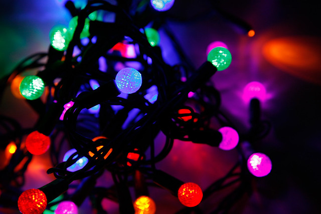 Christmas Lights from Flickr via Wylio
