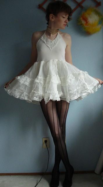 girls 50s crinoline petticoat slip | Flickr - Photo Sharing!