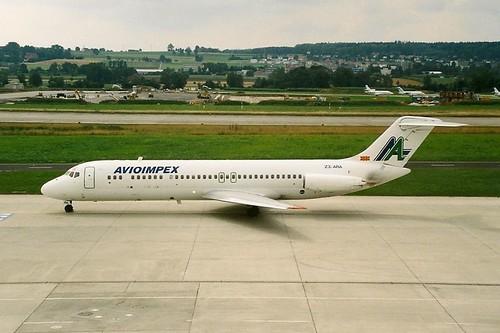 Avioimpex DC9 Z3-ARA