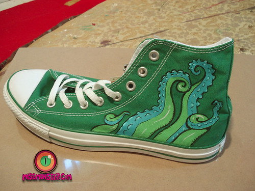 green shoes2