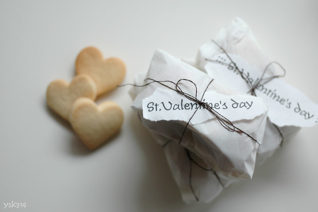 Packaging of St. Valentine's day