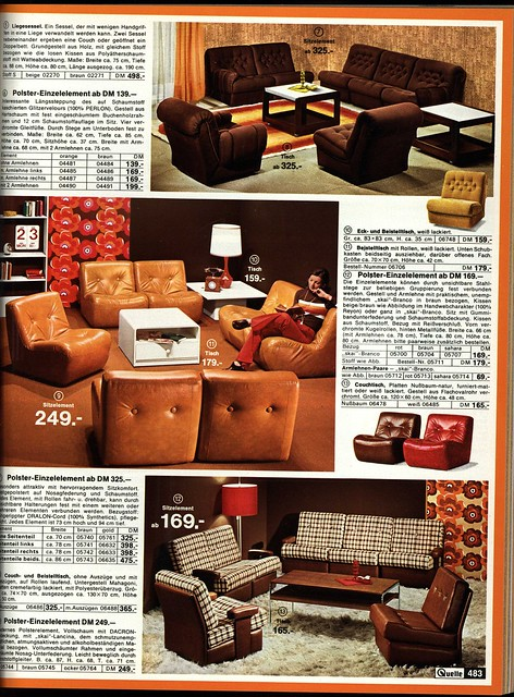 1972 quelle 483 couch flickr photo sharing for Couch quelle