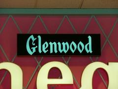 Overland Park, KS Glenwood Arts Theater sign close-up