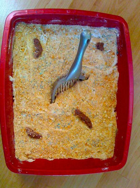 Cat Litter Cake Recipe