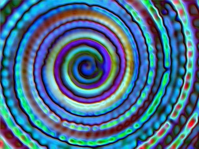 Blue shell spiral