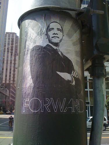 Obama: FORWARD!