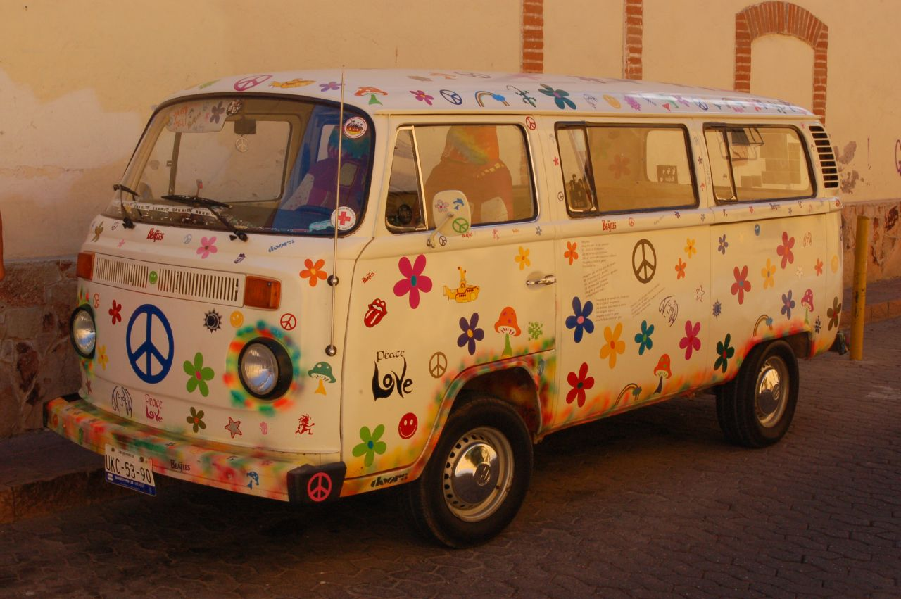 hippie vw van a photo on flickriver. Black Bedroom Furniture Sets. Home Design Ideas