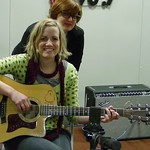 Katie Herzig at WFUV with Claudia