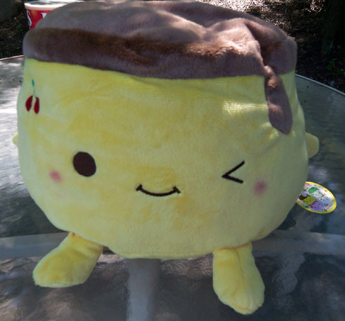 giant Yellow Pudding plush