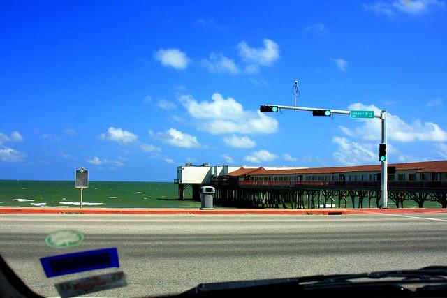 Seawall In Galveston