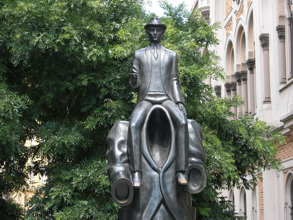 Kafka in Prague
