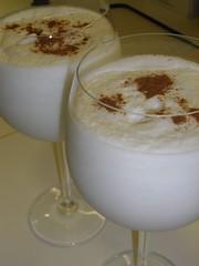 salep, horchata, drink, milkshake,