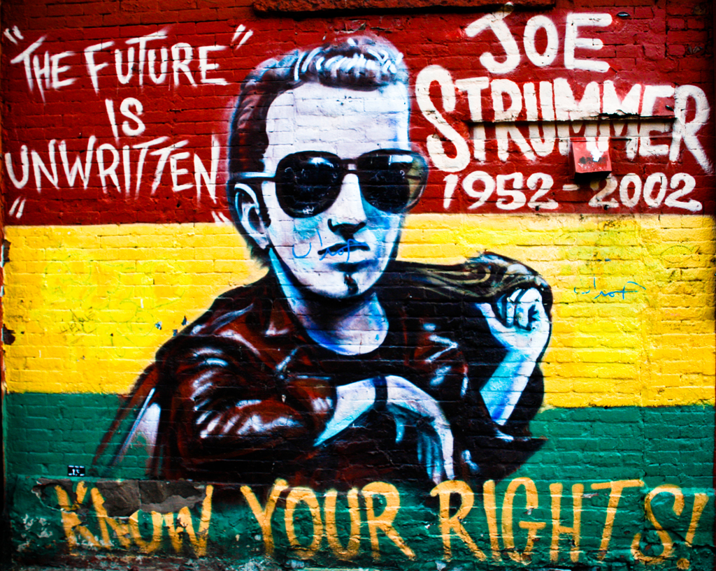 On White: The Future is Unwritten : Joe Strummer by ...