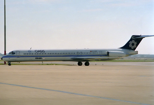 Oasis MD-83 EC-EKM BCN 05/03/1989
