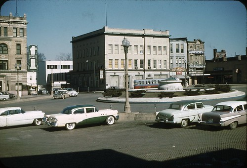 Belleville, Illinois-- the Square, 1958