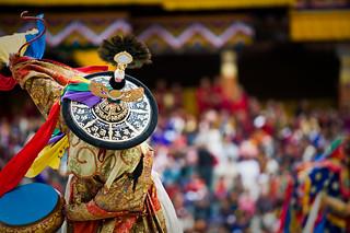 Bhutan- Cham Dance - Thimphu Tsechu