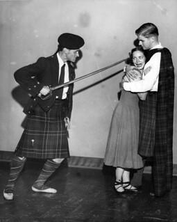 Aqua Theatre performers, 1952