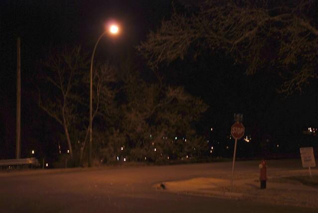 city street corner at night - photo #43