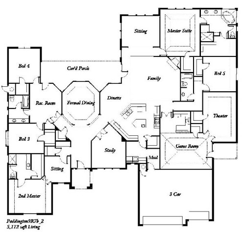 the paddington 5 bedroom floor plan flickr photo sharing