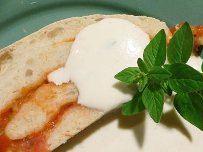 Tomatenstrudel mit Fetacreme