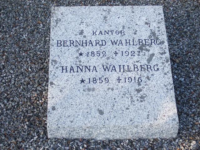 ... Olof Bernhard Wahlberg (185...