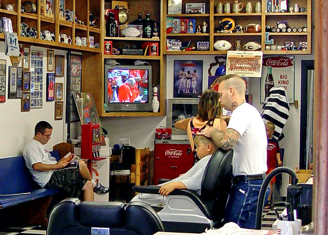 Barber Shop Lawrence Ks : Lawrence KS - A Barber Shop in a University Town (3 of 3) Flickr ...