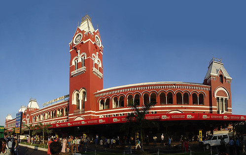 Chennai Central Station panorama