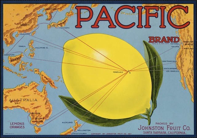 Pacific Brand: Packed by Johnston Fruit Co., Santa Barbara, California