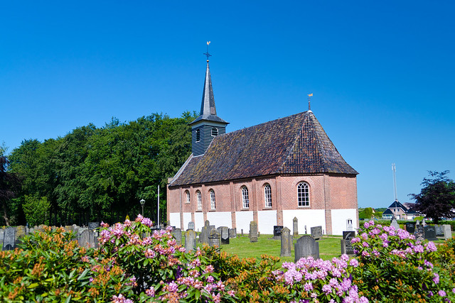 Church Noordwolde in Friesland