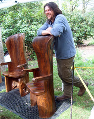 art, furniture, chainsaw carving, wood, tree,